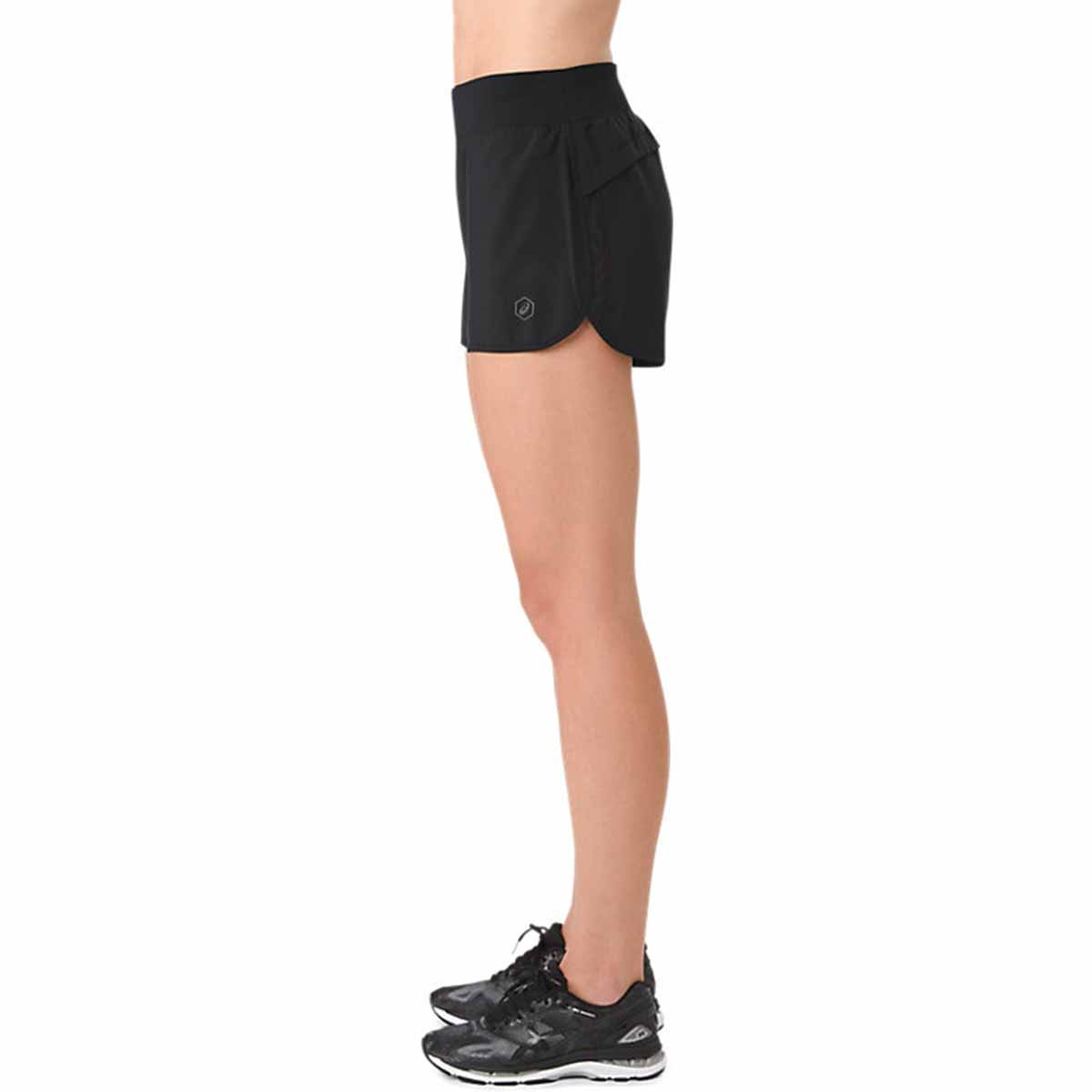 ASICS 4 inch Running SHORT Lady - Beine