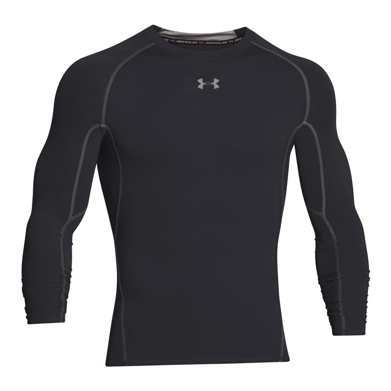 UA HeatGear® Armour Long Sleeve Compression Shirt - Front