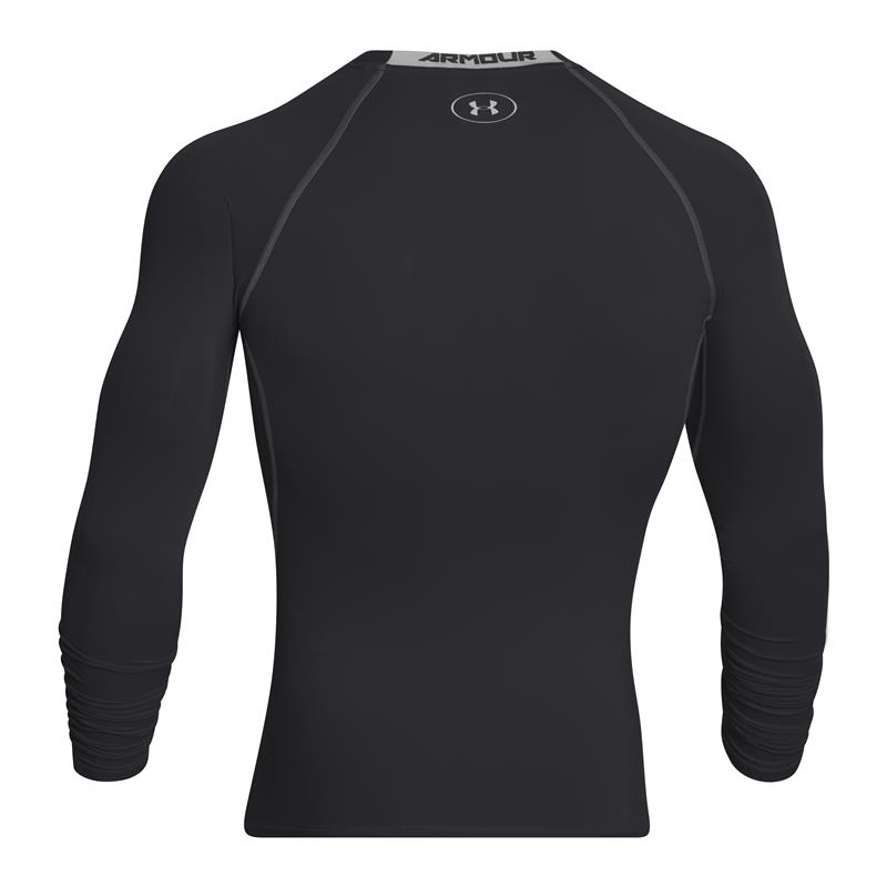 UA HeatGear® Armour Long Sleeve Compression Shirt - back