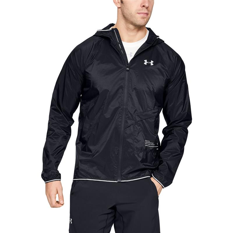 Under Armour PACKABLE JACKET - Black