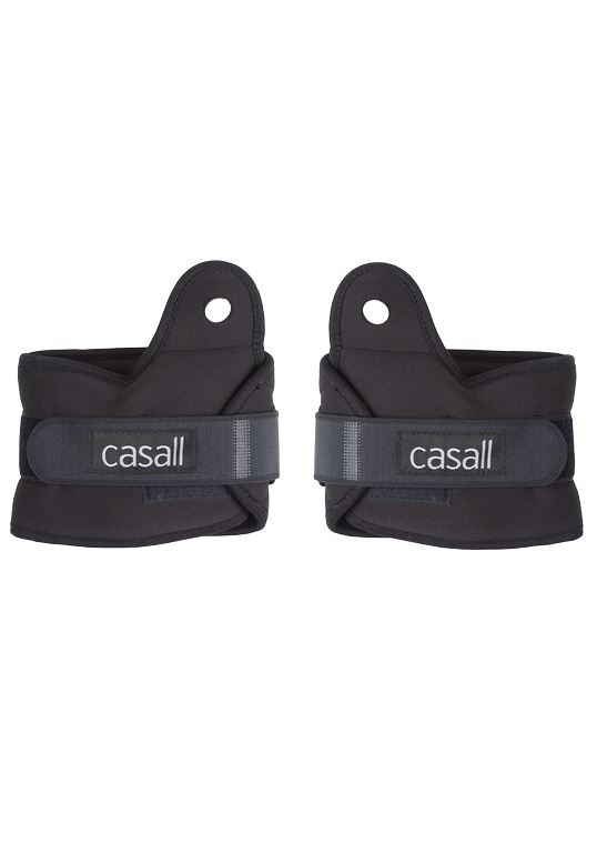 Casall Wrist weights 2x0,5kg  – Black