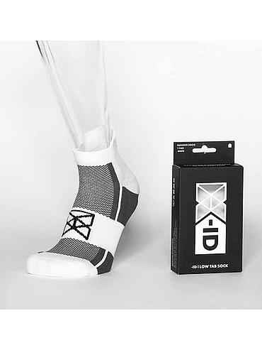 Low Tab Running Sock WHITE