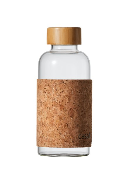 Casall Cork glass bottle 0,5L – Glass/cork