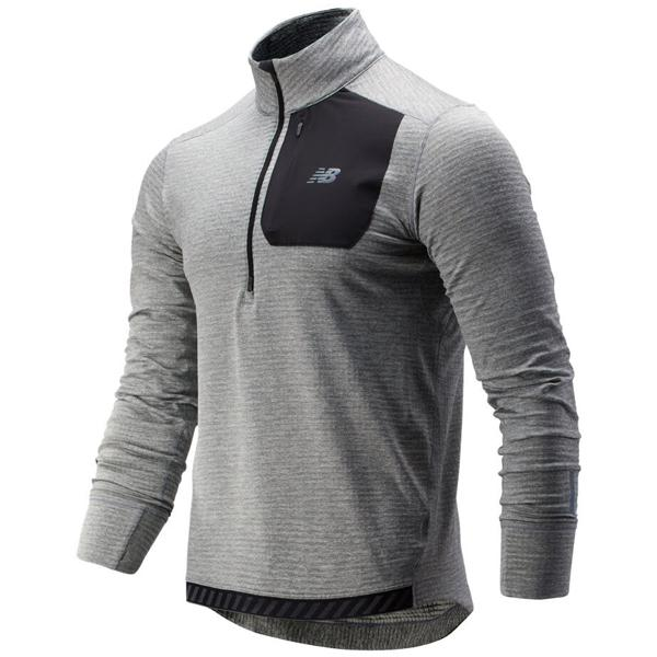 NB Run Grid Back Half Zip