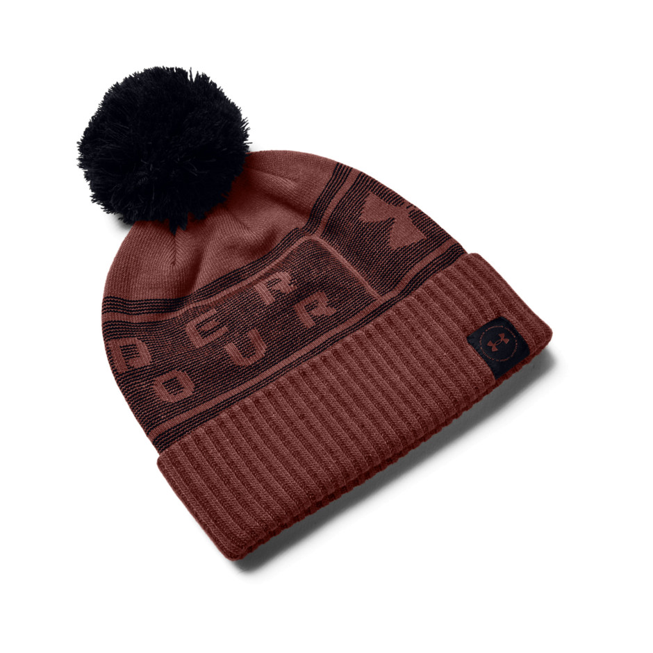 Under Armour Big Logo Pom Beanie